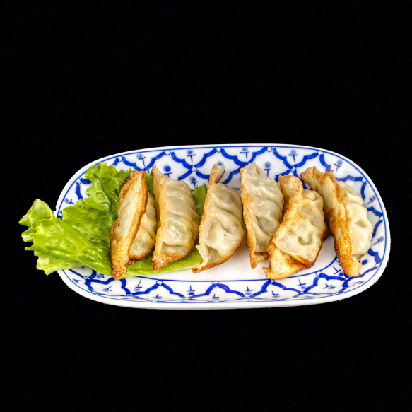 Raviolis grillés (6 pièces)