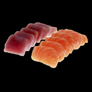 Thon et saumon (12 pcs)