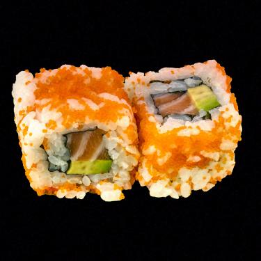 masago tartare saumon avocat