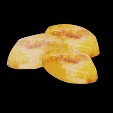 DE4 Beignets de fruits  (pomme / banane / ananas) 2pcs